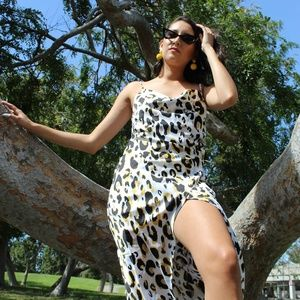 Dresses & Skirts - 🆕️//The Gypsy// Snake print Slip dress